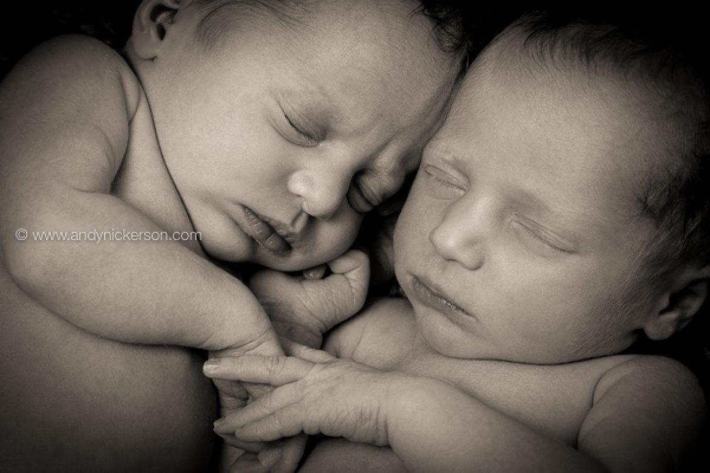 Newborn Twin Photography, Orla & Eloise