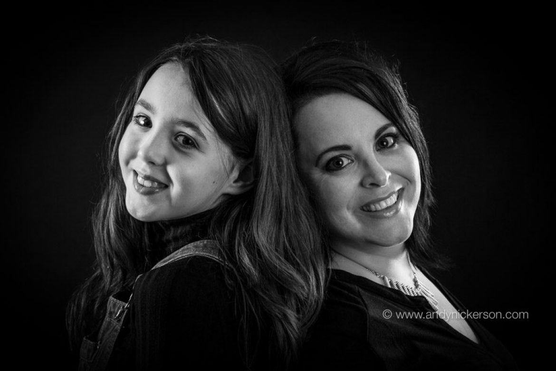 Black & White Mother & Child Photoshoot